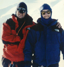 Joe & Pete on Mont Blanc