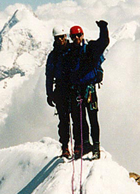 Joe & Pete on Matterhorn summit