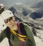 Heading up the Hornli Ridge