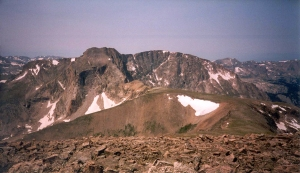 A view of Mt Alice from below the summit of Chiefs Head