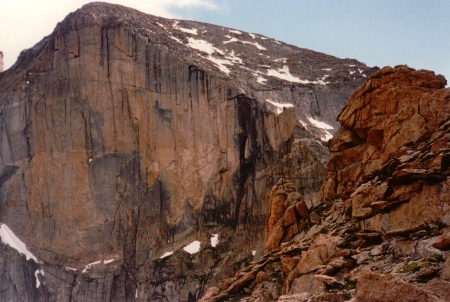 The Diamond of Longs Peak