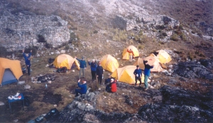 Huayna Potosi Basecamp