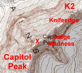 Capitol Peak elements