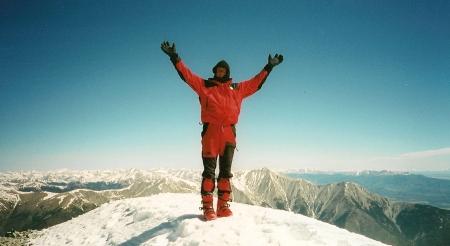 My rapture on the summit of Mt Antero
