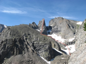 Sharkstooth seen from Zowie